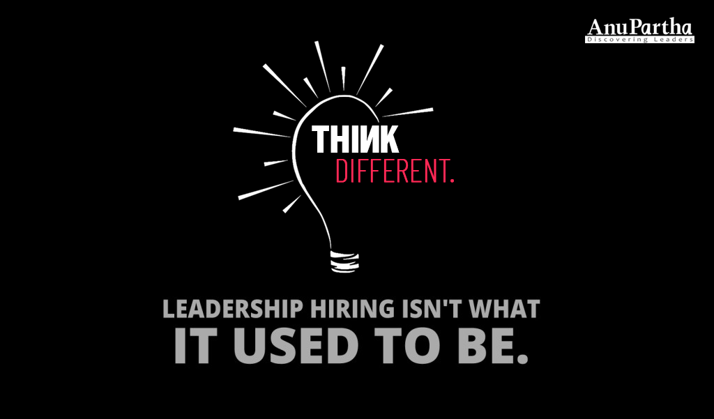 Hiring Disrupters in the Age of Disruption  Part 3: You've Got to Think Different!